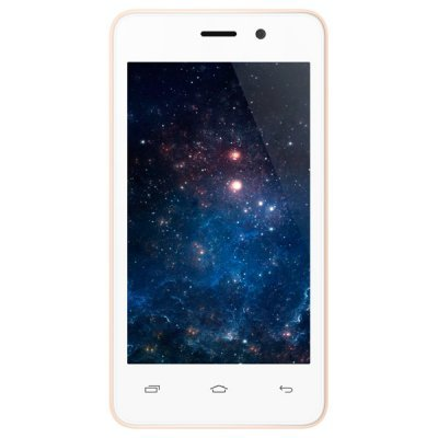 Смартфон Micromax Q326 шампань (Q326 Champagne) смартфон micromax q346 lite grey 4 5 854x480 fm радио bluetooth wi fi 3g android 5 1 1700 ма ч