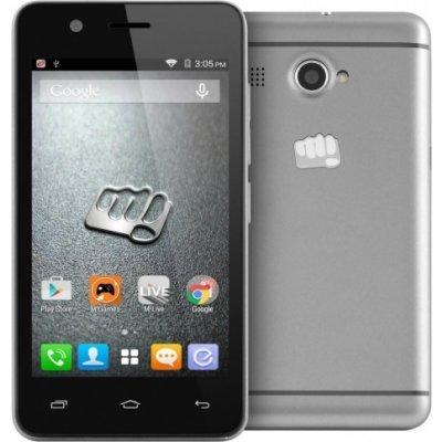 Смартфон Micromax Q326 Grey (Q326 Grey) смартфон micromax q346 lite coffee 4 5 854x480 fm радио bluetooth wi fi 3g android 5 1 1700 ма ч