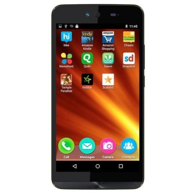 Смартфон Micromax Q338 черный (Q338  Black) смартфон micromax bolt q379 yellow