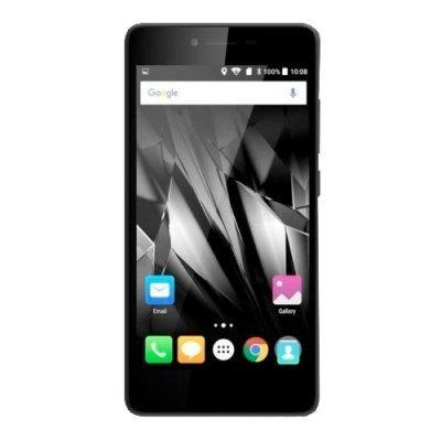 Смартфон Micromax Q409 серебристый (Q409 Silver) смартфон micromax q346 lite grey 4 5 854x480 fm радио bluetooth wi fi 3g android 5 1 1700 ма ч