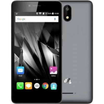 Смартфон Micromax Q409 серый (Q409 Cosmic Grey) смартфон micromax bolt q379 yellow