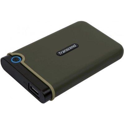 Внешний жесткий диск Transcend USB 3.0 1Tb TS1TSJ25M3E StoreJet 25M3 (5400rpm) 2.5  зеленый (TS1TSJ25M3E), арт: 272045 -  Внешние жесткие диски Transcend