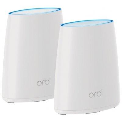 Wi-Fi роутер Netgear ORBI RBK40-100PES (RBK40-100PES) точка доступа netgear wnap320 100pes 802 11n 300mbps 2 4ггц 20dbm gblan