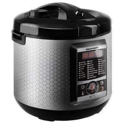 Мультиварка Redmond RMC-M35 черный/серебристый (RMC-M35) кофеварка redmond rсm 1502