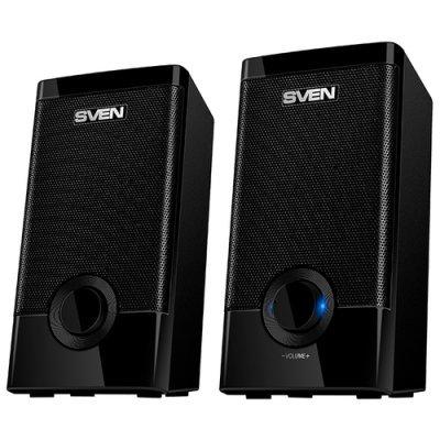 Компьютерная акустика SVEN 318 чёрный (SV-015176) колонки sven 355 5 вт чёрный