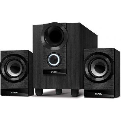 Компьютерная акустика SVEN MS-150 чёрный (SV-014803) акустическая система sven ms 80 black