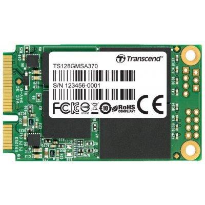 Накопитель SSD Transcend 128GB TS128GMSA370 mSATA (TS128GMSA370) usb flash накопитель 128gb kingston hyperx hxs3 128gb usb3 1 черный