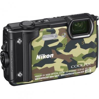 Цифровая фотокамера Nikon Coolpix W300 камуфляж (W300/Camouflage) фотоаппарат nikon coolpix w300 yellow