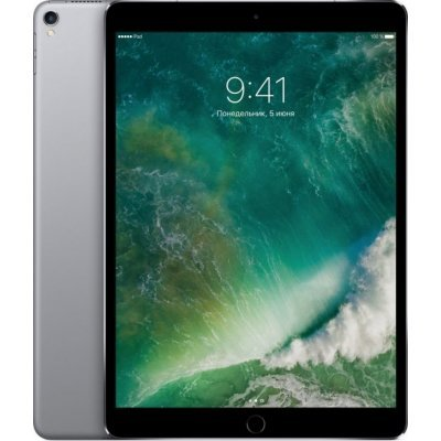 Планшетный ПК Apple iPad Pro 10.5 512Gb Wi-Fi + Cellular Space Grey (MPME2RU/A) apple ipad mini with retina display wi fi cellular 32gb space gray