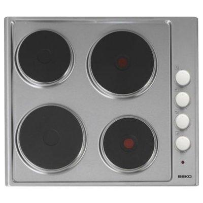 Электрическая варочная панель Beko HIZE 64101 X нержавеющая сталь (HIZE 64101 X) варочная поверхность beko hisg 64235 s независимая черный