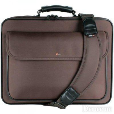 """Сумка для ноутбука Continent CC-03 15.4"""" коричневый (CC-03 Brown)"""