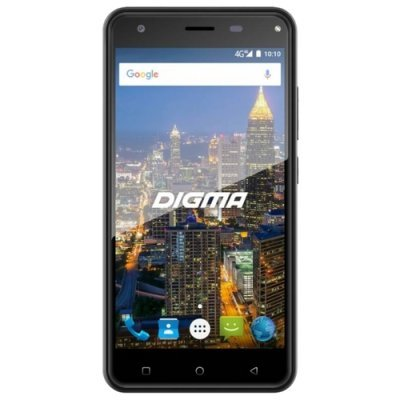 Смартфон Digma CITI ATL 4G Белый (CS5029ML) планшет digma plane 1601 3g ps1060mg black