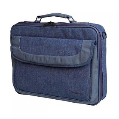 Сумка для ноутбука Continent CC-03 15.4 синий (CC-03 Navy)Сумки для ноутбуков Continent<br>Сумка для ноутбука Continent CC-03 15.4 внут. 40 x 30 x 5 см. синий<br>