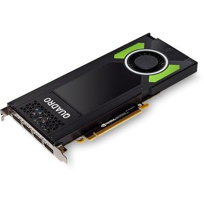 Видеокарта ПК PNY Technologies nVidia Quadro P4000 PCI-E 8Gb GDDR5 256 bit, 4*DP (VCQP4000-PB), арт: 272614 -  Видеокарты ПК PNY Technologies
