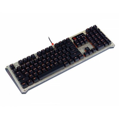 Клавиатура A4Tech Bloody B840 темно/серый (B840 darkblack)  цена