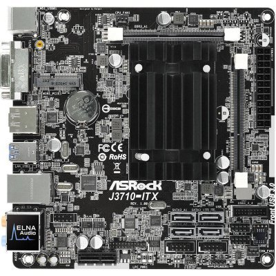 Материнская плата ПК ASRock J3710-ITX (J3710-ITX) материнская плата пк asrock j3060m j3060m