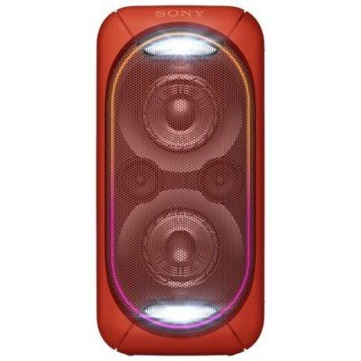 Портативная акустика Sony GTK-XB60 красный (GTKXB60R.RU1) музыкальный центр sony gtk xb60 красный [gtkxb60r ru1]