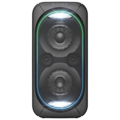 Портативная акустика Sony GTK-XB60 черный (GTKXB60B.RU1) аудио минисистема sony gtk xb7 черный gtkxb7b ru1