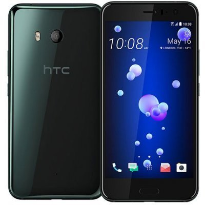 Смартфон HTC U11 128Gb Brilliant Black (Черный) (99HAMB123-00) смартфон htc u ultra brilliant black 128gb android 7 0 nougat msm8996 2150mhz 5 7 2560х1440 4096mb 128gb 4g lte [99halu052 00]