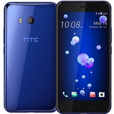 Смартфон HTC U11 128Gb Sapphire Blue (Синий) (99HAMB080-00) смартфон htc u ultra brilliant black 128gb android 7 0 nougat msm8996 2150mhz 5 7 2560х1440 4096mb 128gb 4g lte [99halu052 00]
