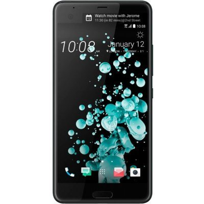 Смартфон HTC U Ultra 128Gb Brilliant Black (99HALU052-00) аксессуар чехол htc u ultra brosco black htc uu book black