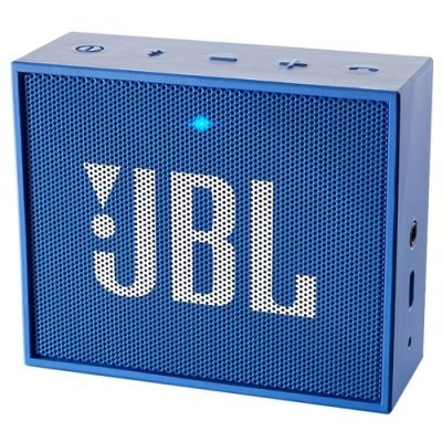 Портативная акустика JBL GO синий (JBLGOBLUE) портативная акустика jbl go красный jblgored