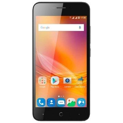 Смартфон ZTE BLADE A601 черный (BLADEA601BLACK) смартфон zte blade 601 черный 5 8 гб lte wi fi gps 3g bladea601black