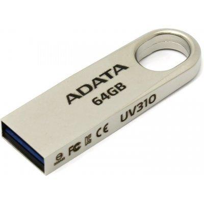 USB накопитель A-Data UV310 64GB Золотой (AUV310-64G-RGD), арт: 273089 -  USB накопители A-Data