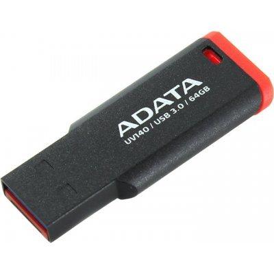 купить USB накопитель A-Data UV140 64GB Черн./красный (AUV140-64G-RKD) недорого