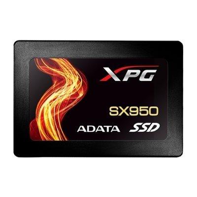 Накопитель SSD A-Data SX950, 480GB, SATA III, [R/W - 560/490 MB/s] 3D-NAND MLC, SMI (ASX950SS-480GM-C) накопитель ssd 128gb hp sata mlc qv063aa qv063aa