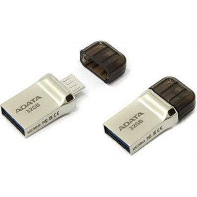 USB накопитель A-Data DashDrive UC360 32GB Золотой (AUC360-32G-RGD), арт: 273107 -  USB накопители A-Data