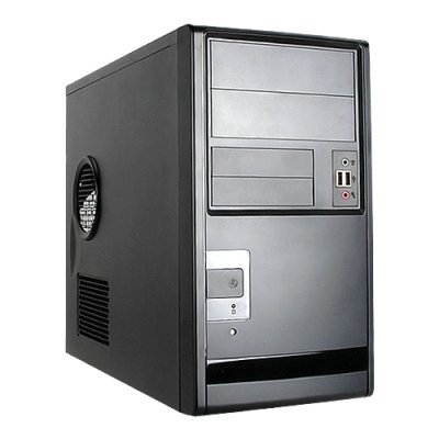 Корпус системного блока INWIN EMR013 450W Black (6120736) компьютерный корпус inwin in win ec021 450w black черный