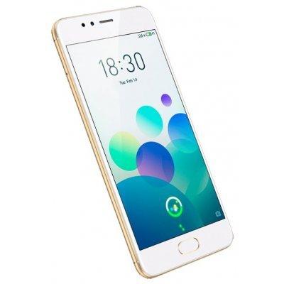 Смартфон Meizu M5s 16Gb (M612H) Золотой (M612H-16GB-G) смартфон meizu m5 note белый золотистый 5 5 16 гб lte wi fi gps 3g