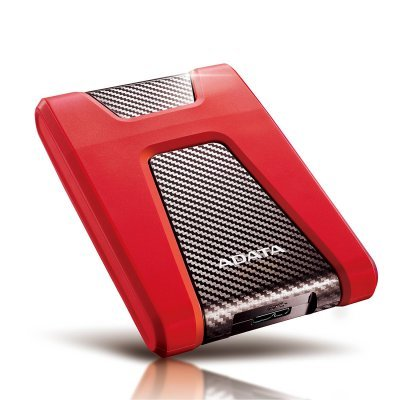 Внешний жесткий диск A-Data AHD650 2Tb AHD650-2TU31-CRD красный (AHD650-2TU31-CRD) внешний жесткий диск lacie 9000304 silver