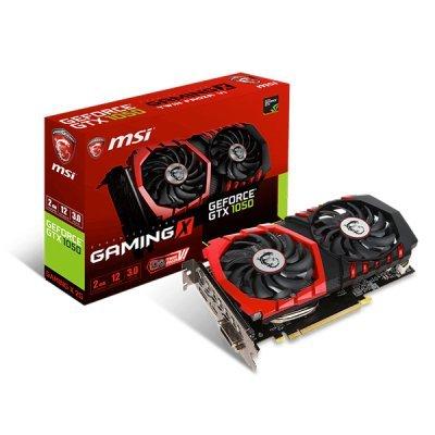 Видеокарта ПК MSI GeForce GTX 1050 GAMING 2G (GTX 1050 GAMING 2G) видеокарта asus geforce gtx 1060 1620mhz pci e 3 0 6144mb 8208mhz 192 bit dvi hdmi hdcp rog strix gtx1060 o6g gaming