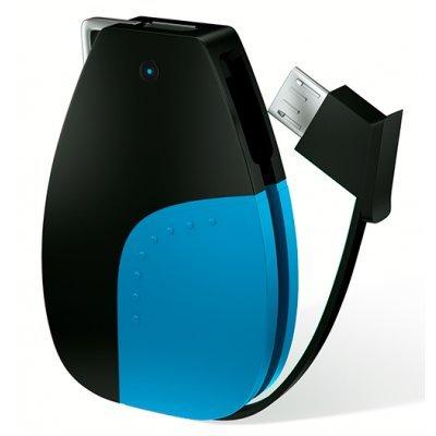 Внешний аккумулятор для портативных устройств HIPER CIRCLE 500 BLUE (CIRCLE500BLUE) monbento красочные портативных переноски спортивных бутылок портативных чашки чашки mbpositive 500 хаошенг грей 101101010