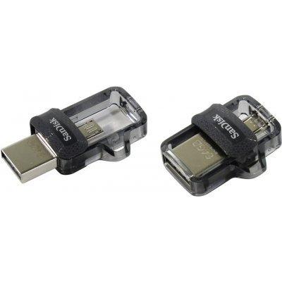 USB накопитель Sandisk 64GB Ultra Android Dual Drive OTG, m3.0/USB 3.0, Black (SDDD3-064G-G46), арт: 273364 -  USB накопители Sandisk