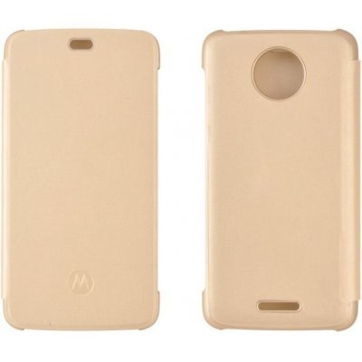 Чехол для смартфона Motorola Moto C Flip Cover Gold WW (PG38C01665) (PG38C01665) смартфон motorola moto c xt1754 16gb черный pa6l0083ru