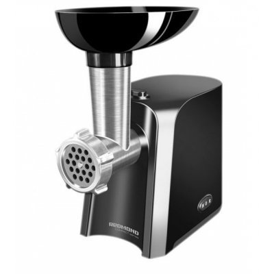 Мясорубка Redmond RMG-1223 1000Вт черный/серебристый (RMG-1223) кофеварка redmond rсm 1502