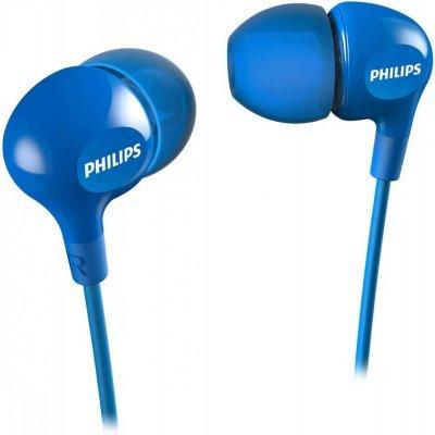 Наушники Philips SHE3550BL 1.2м синий (SHE3550BL/00) наушники philips she3515wt she3515wt 00