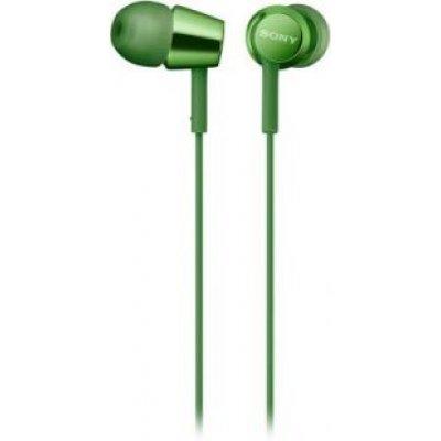Наушники Sony MDREX155G.E зеленые (MDREX155G.E) sony ericcson c905 в омске