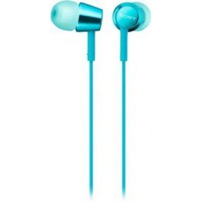Наушники Sony MDREX155L.E голубые (MDREX155L.E) sony ericcson c905 в омске