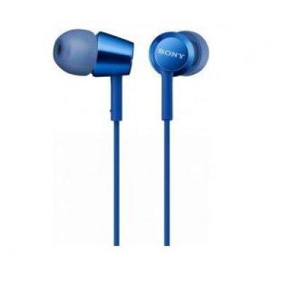 Наушники Sony MDREX155LI.E голубые (MDREX155LI.E) sony ericcson c905 в омске