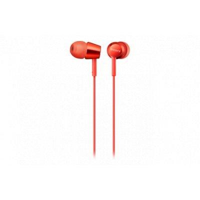 Наушники Sony MDREX155R.E 1.2м красные (MDREX155R.E)