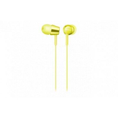 Наушники Sony MDREX155Y.E желтые (MDREX155Y.E) sony ericcson c905 в омске