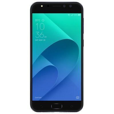 Смартфон ASUS ZenFone 4 Selfie Pro ZD552KL 4/64Gb черный (90AZ01M7-M01000) аксессуар защитная пленка asus zenfone 4 selfie pro zd552kl luxcase суперпрозрачная 55825