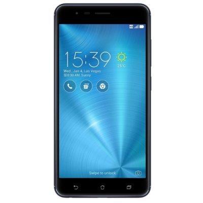 Смартфон ASUS ZenFone 3 Zoom ZE553KL 64Gb черный (90AZ01H3-M00690) сотовый телефон asus zenfone 3 zoom ze553kl 64gb silver