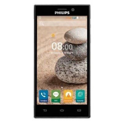 Смартфон Philips Xenium V787 32Gb черный (867000142487) смартфон philips s386 xenium navy