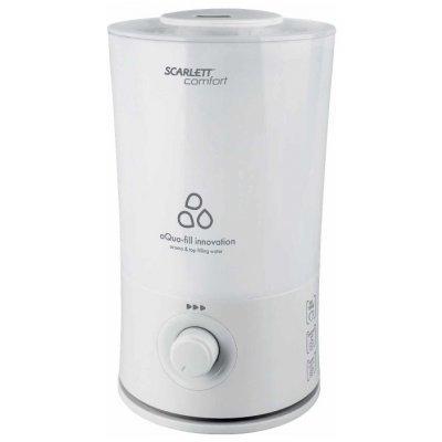 Увлажнитель и очиститель воздуха Scarlett SC-AH986M010 25Вт (ультразвуковой) белый (SC-AH986M010), арт: 273519 -  Увлажнитель и очиститель воздуха Scarlett