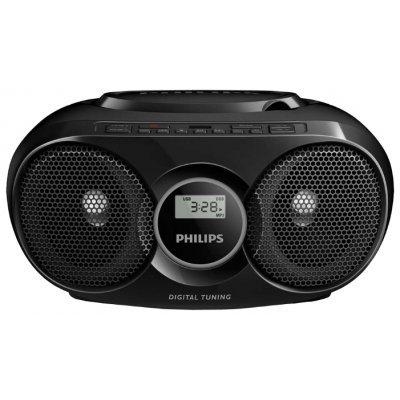 Аудиомагнитола Philips AZ318B/12 черный (AZ318B/12), арт: 273554 -  Аудиомагнитолы Philips